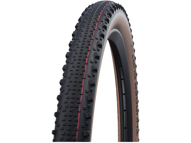 "SCHWALBE Thunder Burt Super Race Evolution Folding Tyre 29x2.10"" TLE Addix Speed, negro"